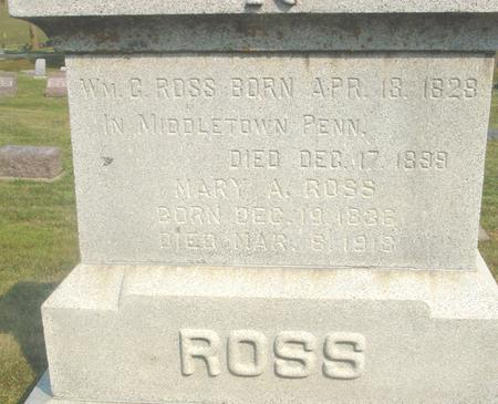 ROSS, WILLIAM C. - Ida County, Iowa | WILLIAM C. ROSS