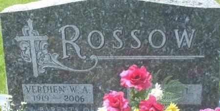 ROSSOW, VERDIEN W. A. - Ida County, Iowa | VERDIEN W. A. ROSSOW