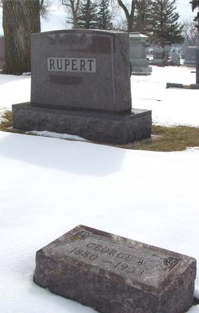RUPERT, GEORGE W. - Ida County, Iowa | GEORGE W. RUPERT
