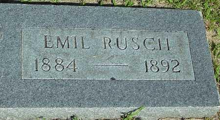 RUSCH, EMIL - Ida County, Iowa | EMIL RUSCH