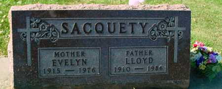 SACQUETY, LLOYD & EVELYN - Ida County, Iowa | LLOYD & EVELYN SACQUETY
