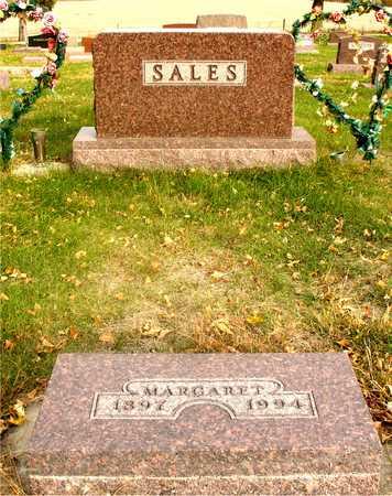 SALES, MARGARET - Ida County, Iowa   MARGARET SALES