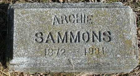 SAMMONS, ARCHIE - Ida County, Iowa | ARCHIE SAMMONS