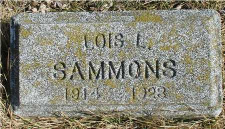 SAMMONS, LOIS L. - Ida County, Iowa | LOIS L. SAMMONS
