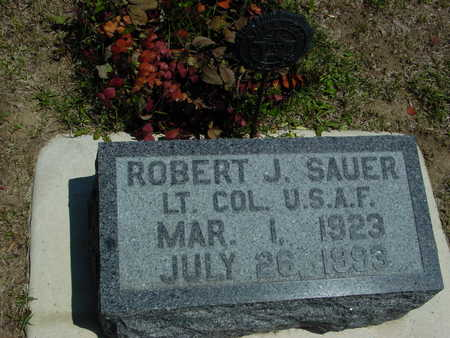 SAUER, ROBERT J. - Ida County, Iowa   ROBERT J. SAUER