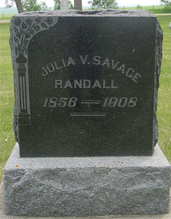 SAVAGE, JULIA V. - Ida County, Iowa | JULIA V. SAVAGE