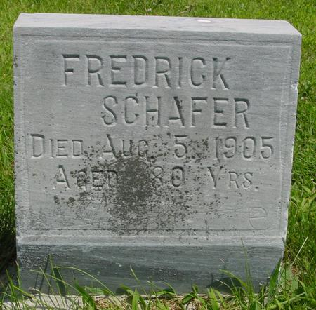SCHAFER, FREDRICK - Ida County, Iowa | FREDRICK SCHAFER