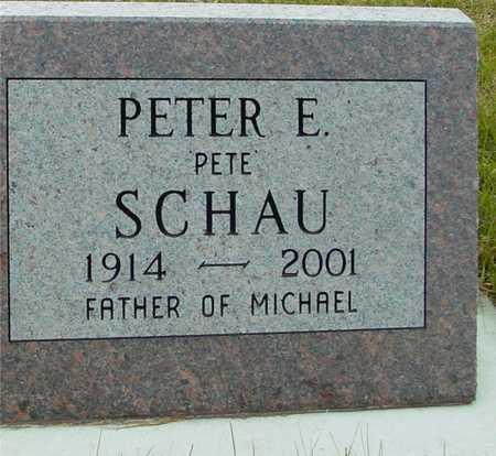 SCHAU, PETER E. - Ida County, Iowa | PETER E. SCHAU