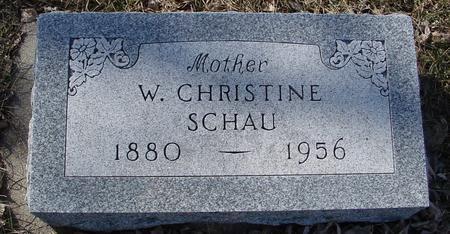 SCHAU, W. CHRISTINE - Ida County, Iowa | W. CHRISTINE SCHAU