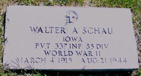 SCHAU, WALTER - Ida County, Iowa | WALTER SCHAU