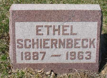 SCHIERNBECK, ETHEL - Ida County, Iowa | ETHEL SCHIERNBECK