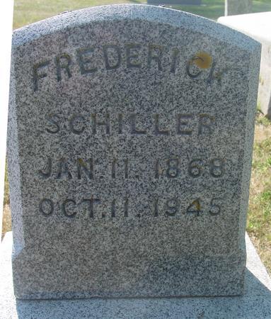 SCHILLER, FREDERICK - Ida County, Iowa | FREDERICK SCHILLER