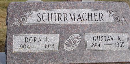 SCHIRRMACHER, GUSTAV & DORA - Ida County, Iowa | GUSTAV & DORA SCHIRRMACHER