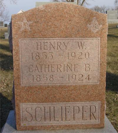 SCHLIEPER, HENRY  & CATHERINE - Ida County, Iowa | HENRY  & CATHERINE SCHLIEPER