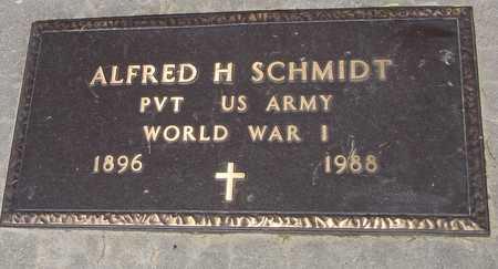 SCHMIDT, ALFRED H. - Ida County, Iowa | ALFRED H. SCHMIDT