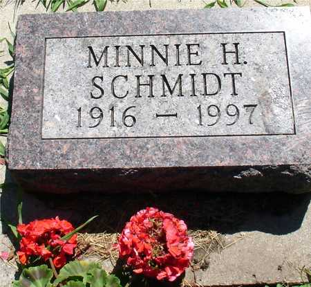 SCHMIDT, MINNIE H. - Ida County, Iowa | MINNIE H. SCHMIDT