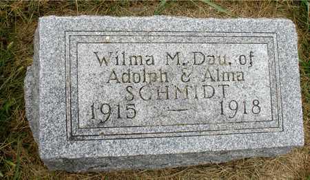 SCHMIDT, WILMA M. - Ida County, Iowa | WILMA M. SCHMIDT
