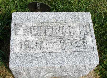 SCHNARE, FREDERICK H. - Ida County, Iowa | FREDERICK H. SCHNARE