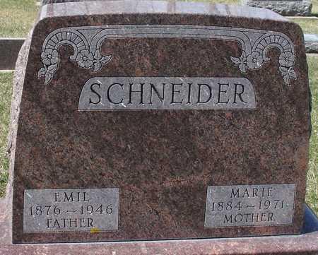 SCHNEIDER, EMIL & MARIE - Ida County, Iowa | EMIL & MARIE SCHNEIDER