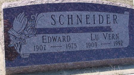 SCHNEIDER, EDWARD & LUVERN - Ida County, Iowa | EDWARD & LUVERN SCHNEIDER
