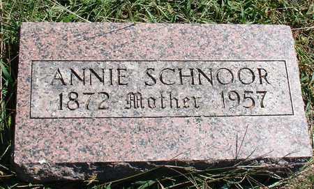 SCHNOOR, ANNIE - Ida County, Iowa | ANNIE SCHNOOR