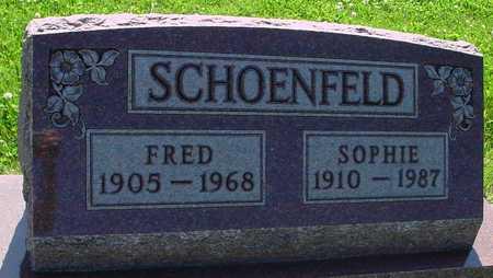 SCHOENFELD, FRED & SOPHIE - Ida County, Iowa | FRED & SOPHIE SCHOENFELD
