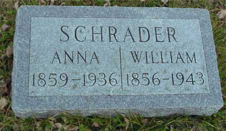 SCHRADER, WILLIAM & ANNA - Ida County, Iowa | WILLIAM & ANNA SCHRADER