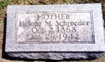 SCHROEDER, HELENE M. - Ida County, Iowa | HELENE M. SCHROEDER