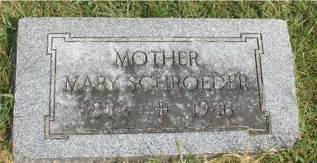 SCHROEDER, MARY - Ida County, Iowa | MARY SCHROEDER