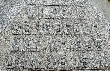 SCHROEDER, WILHELM - Ida County, Iowa | WILHELM SCHROEDER