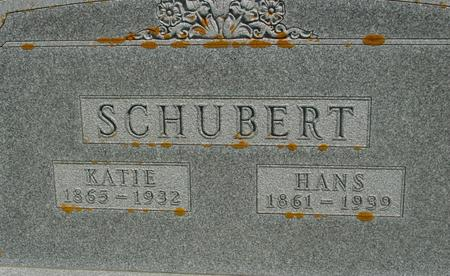 SCHUBERT, HANS - Ida County, Iowa | HANS SCHUBERT