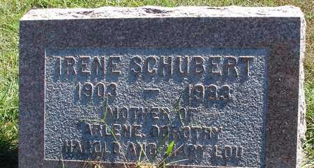 SCHUBERT, IRENE - Ida County, Iowa | IRENE SCHUBERT