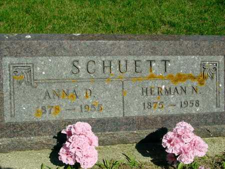 SCHUETT, HERMAN & ANNA - Ida County, Iowa | HERMAN & ANNA SCHUETT