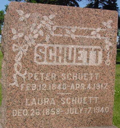 SCHUETT, PETER - Ida County, Iowa | PETER SCHUETT