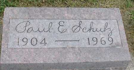 SCHULZ, PAUL E. - Ida County, Iowa | PAUL E. SCHULZ