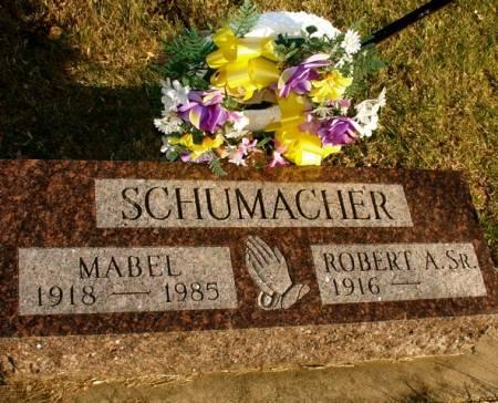 SCHUMACHER, MABEL - Ida County, Iowa | MABEL SCHUMACHER