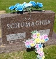 SCHUMACHER, VAHN O. - Ida County, Iowa | VAHN O. SCHUMACHER