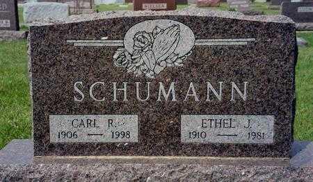 SCHUMANN, ETHEL J. - Ida County, Iowa | ETHEL J. SCHUMANN