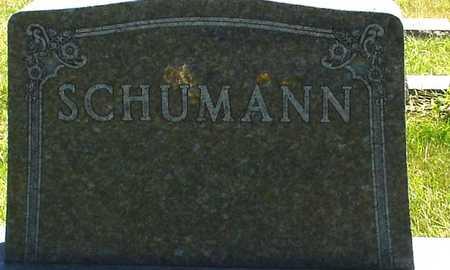 SCHUMANN, FAMILY MARKER - Ida County, Iowa | FAMILY MARKER SCHUMANN