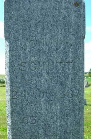 SCHUTT, JOHANN (JOHN) - Ida County, Iowa | JOHANN (JOHN) SCHUTT