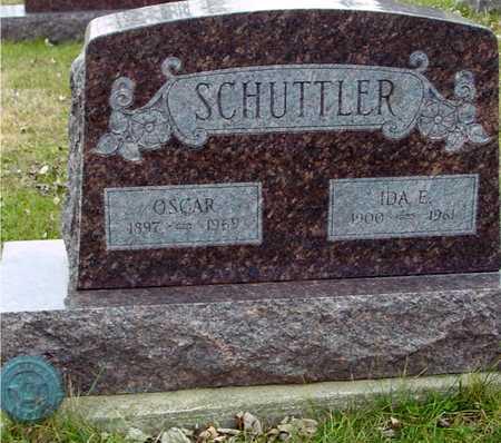 SCHUTTLER, OSCAR & IDA E. - Ida County, Iowa | OSCAR & IDA E. SCHUTTLER