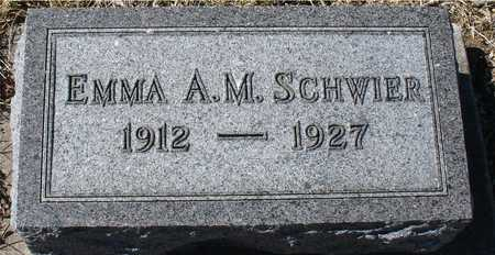 SCHWIER, EMMA A.M. - Ida County, Iowa | EMMA A.M. SCHWIER