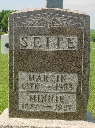SEITE, MARTIN - Ida County, Iowa | MARTIN SEITE