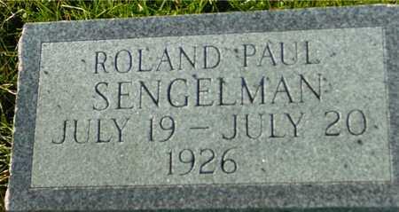 SENGELMAN, ROLAND PAUL - Ida County, Iowa | ROLAND PAUL SENGELMAN
