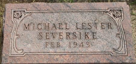 SEVERSIKE, MICHAEL LESTER - Ida County, Iowa | MICHAEL LESTER SEVERSIKE