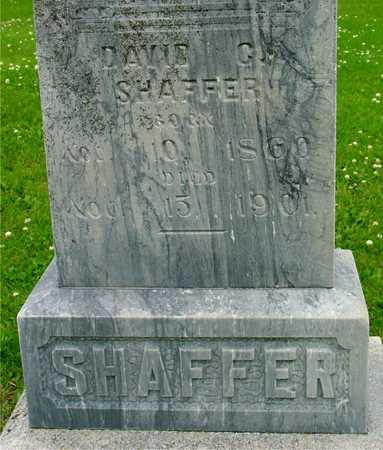 SHAFFER, DAVID - Ida County, Iowa | DAVID SHAFFER