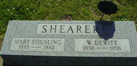SHEARER, W. DEWITT & MARY - Ida County, Iowa | W. DEWITT & MARY SHEARER