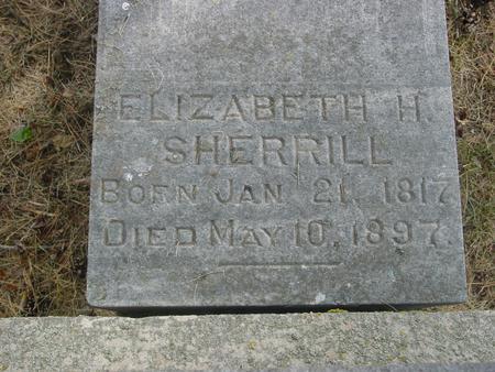 SHERRILL, ELIZABETH H. - Ida County, Iowa | ELIZABETH H. SHERRILL