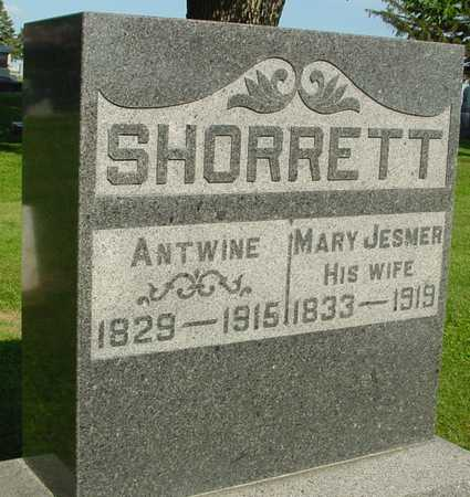 SHORRETT, ANTWINE & MARY - Ida County, Iowa | ANTWINE & MARY SHORRETT