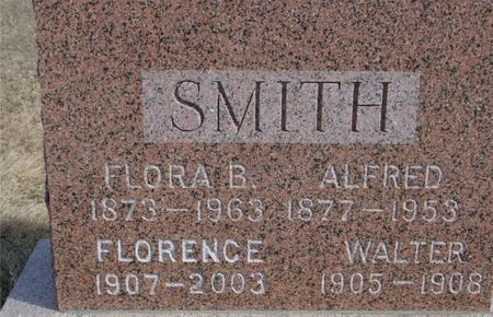 SMITH, FLORA & ALFRED - Ida County, Iowa | FLORA & ALFRED SMITH